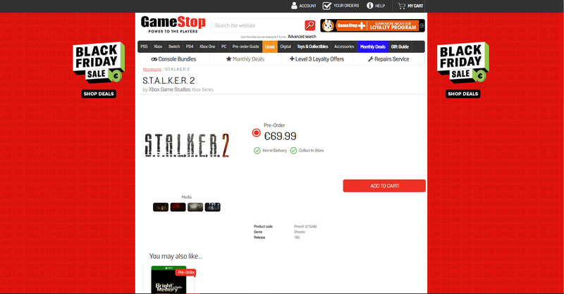 GameSpot / S.T.A.L.K.E.R. 2