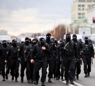 В Беларуси на акции протеста силовики провели жесткие задержания – Протесты в Беларуси сегодня