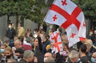 Грузия, протест
