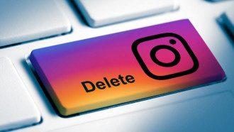 Как удалить и восстановить страницу в Instagram