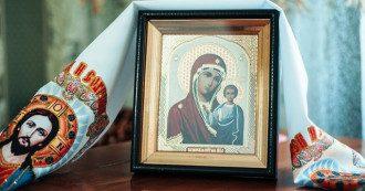 Листівки зі святом Казанської Божої Матері - привітання духовні