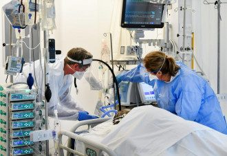 коронавирус, больница, врачи