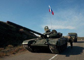 Росія, Карабах, танк
