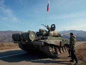 Нагірний Карабах, миротворці