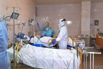Коронавирус в Украине - украинец умер, пожертвовав свой кислород сыну