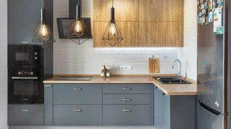 Бюджетний дизайн кухні - фото і відео, як зробити гарний інтер'єр кухні