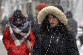 Київ, сніг