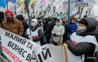 Митингующие пообщались с нардепами