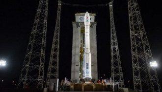 Во Франции потерпела крушение ракета-носитель