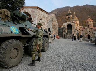 Премьер Армении сообщил, что в Карабахе миротворцы РФ могут пробыть дольше пяти лет – Российские миротворцы Карабах