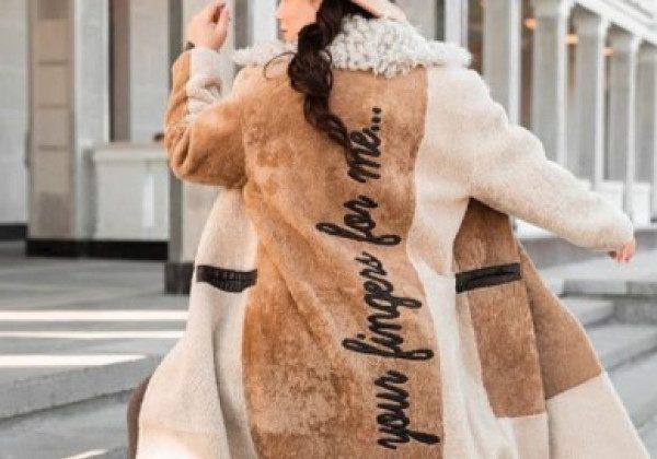 Модные дубленки зима 2020