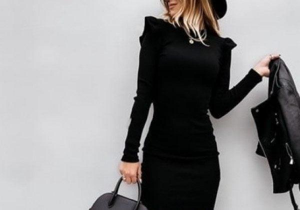Модные платья зима 2021