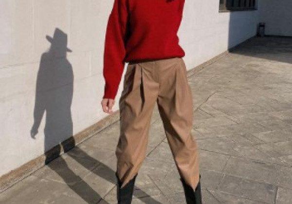 Модные брюки зима 2021