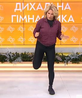 Литвинова показала вправи для відновлення після коронавірусу – Як відновитися після Ковіду