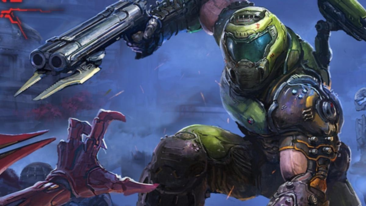 Кадр из Doom Eternal / id Software