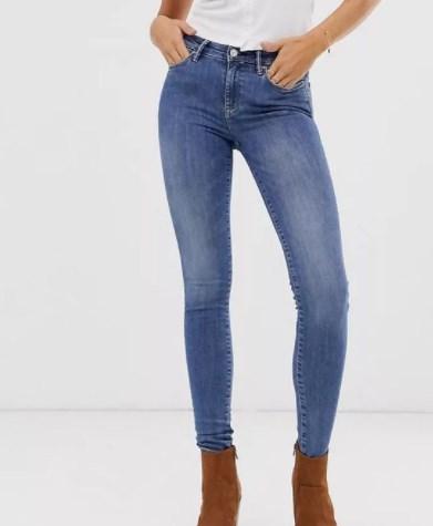 Модные джинсы 2021 / Instagram
