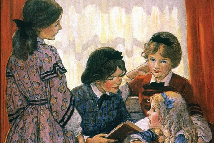 """Книга """"Маленькие женщины"""" / Эксмо"""