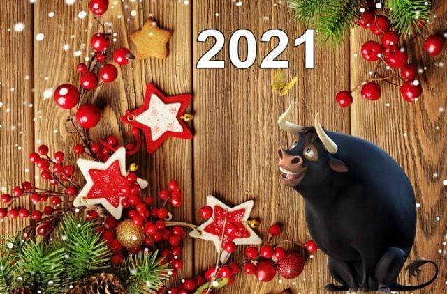 картинки з новим роком 2021 бика