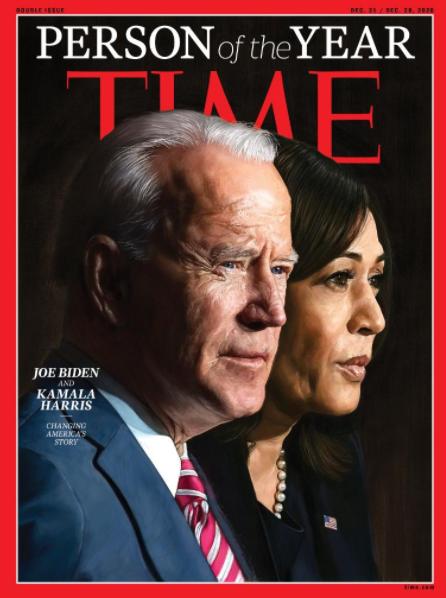 Байден та Харріс стали людьми року за версією Time – Time людина року