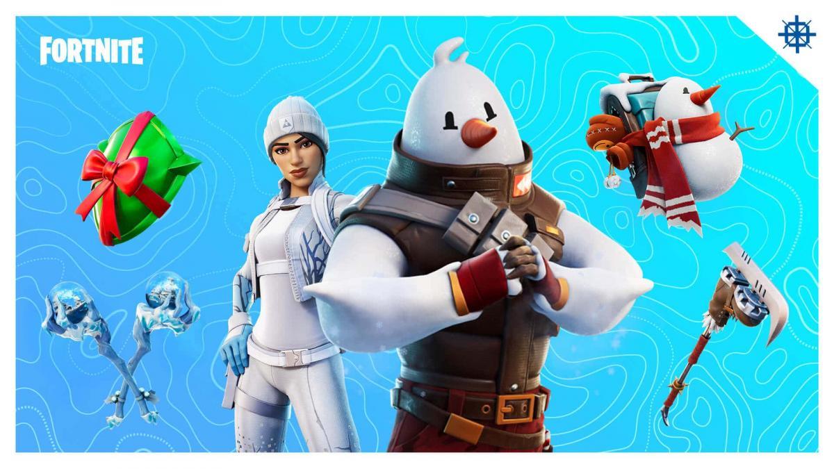 Пришло время празднования – Epic Games запустила зимнее событие в Fortnite