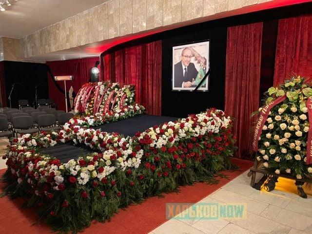 Похороны Геннадия Кернеса