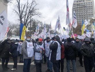 протесты ФОП под Радой