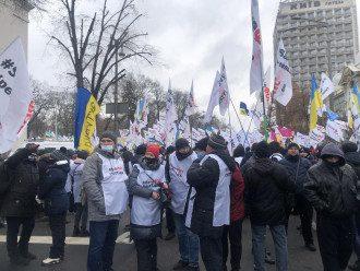 Протести ФОП під Радою/ Главред