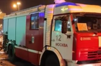 У результаті пожежі в московській лікарні загинули дві особи – Москва пожежа