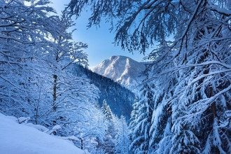 зима_природа_горы_снег