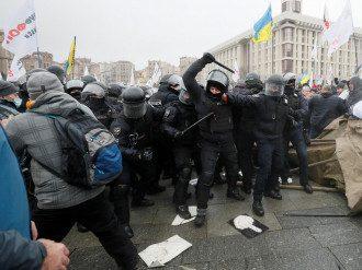 Протесты ФОПов в Киеве 15 декабря