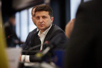 Зеленский рассказал, на какие шаги Украина не пойдет в переговорах по Донбассу / Офис президента