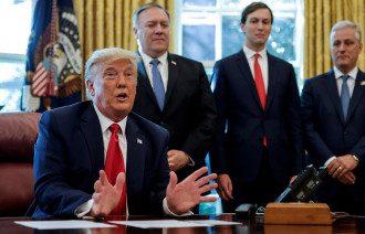 Трамп ветировал оборонный бюджет / Reuters
