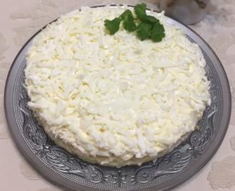 Собраны разные праздничные варианты салата невеста – салат невеста рецепт