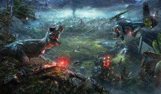 Кадр из Jurassic World Evolution / Frontier Developments plc