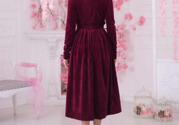 Модний одяг з оксамиту зима 2021