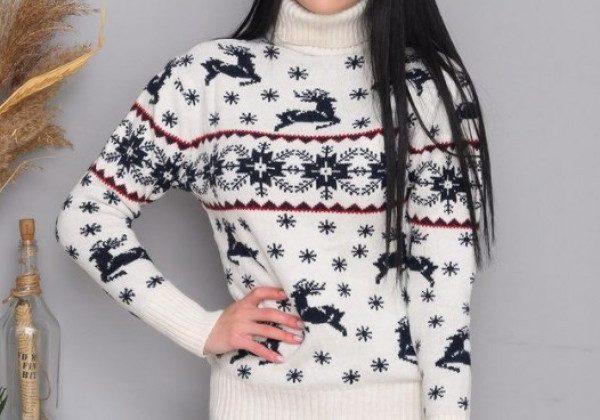 Некрасивый рождественский свитер 2021