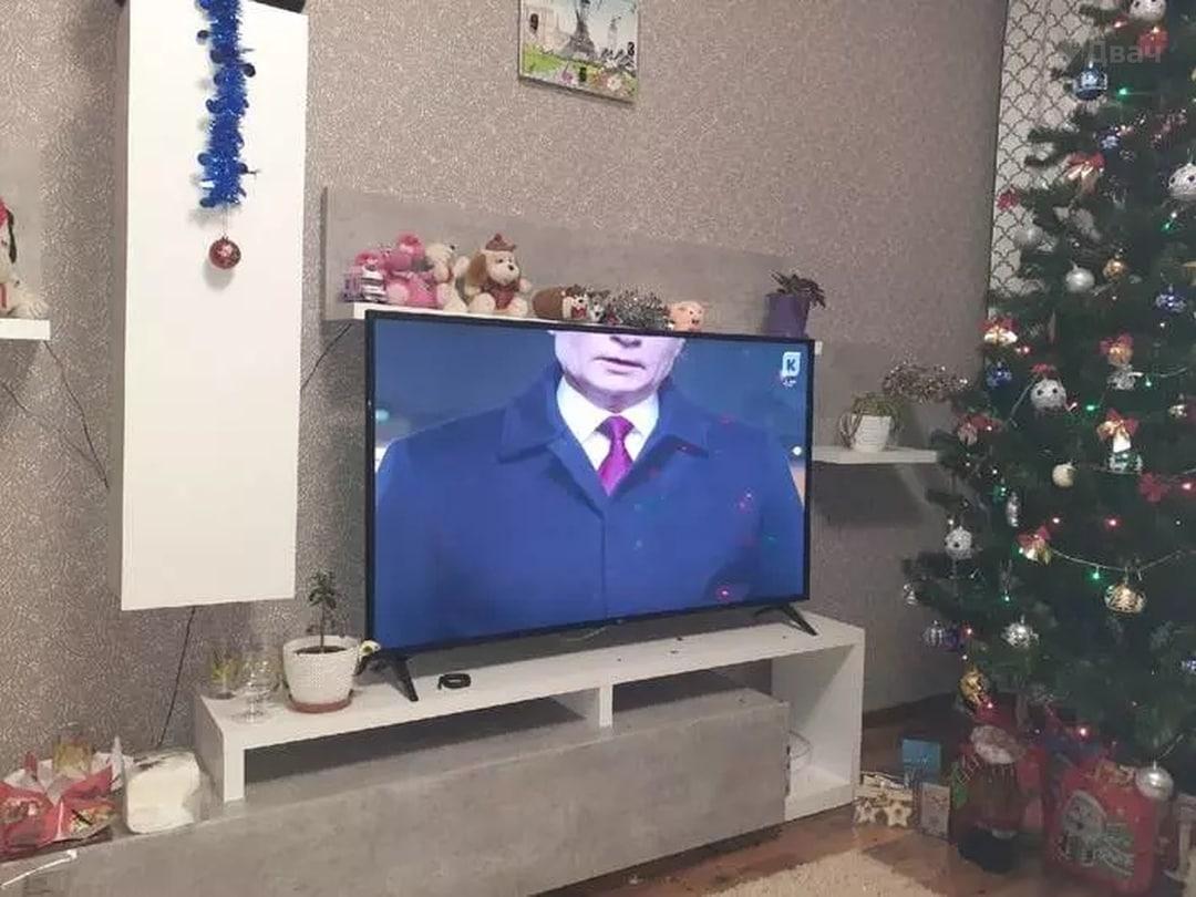 """Путин с """"половиной головы"""" / Фото из соцсетей"""