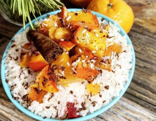 Смачна кутя – рецепт з рису