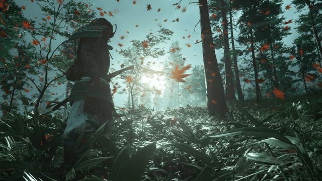 Кадр из игры Ghost of Tsushima / Sucker Punch