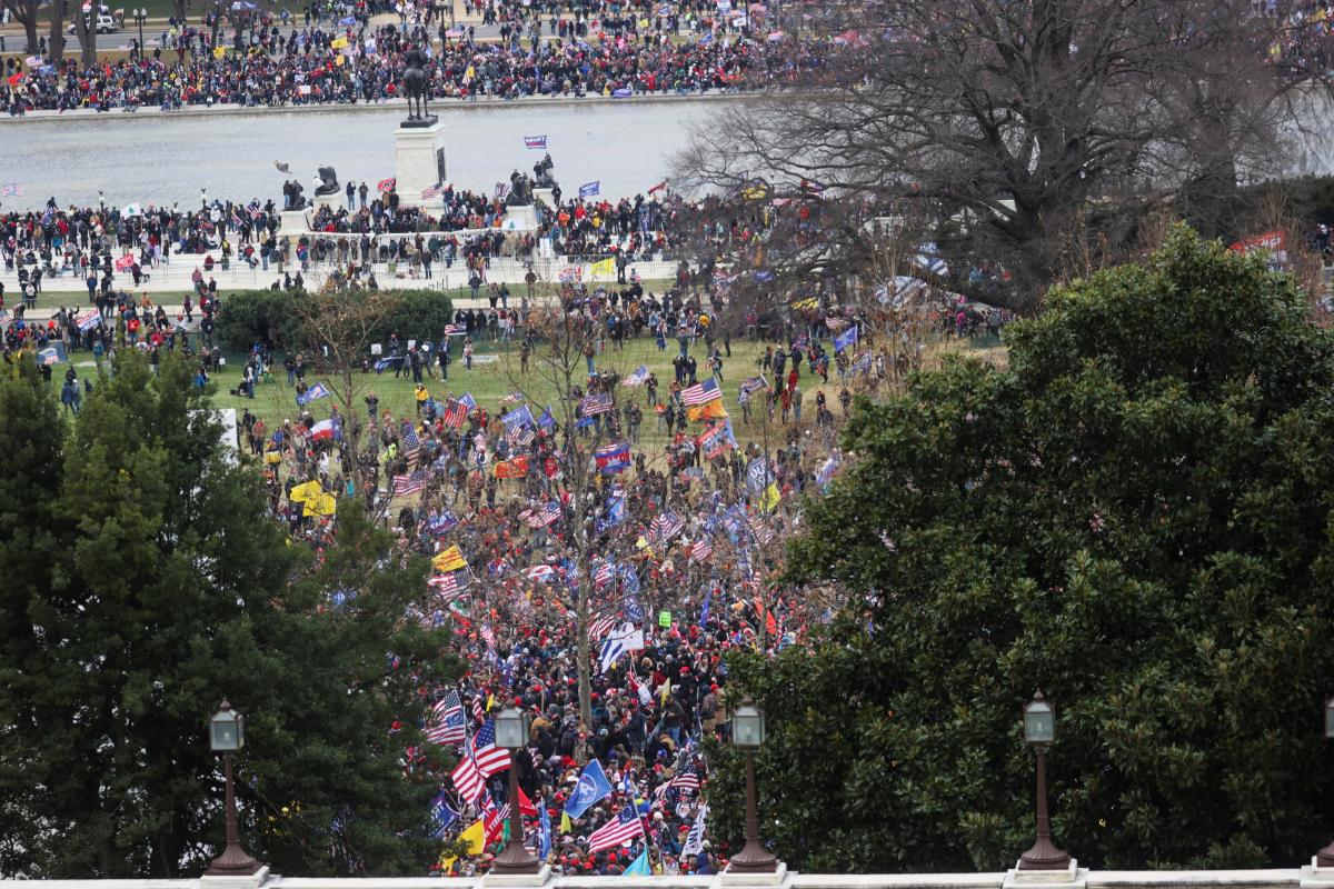 США, митинг