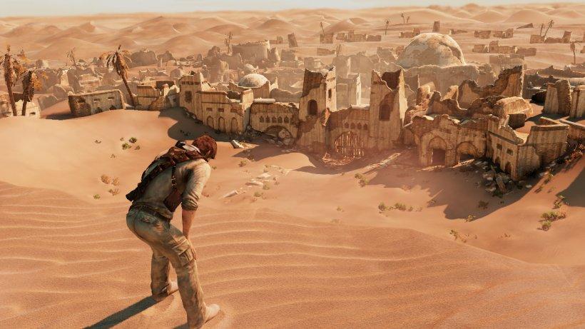 Кадр из Uncharted 3 / Naughty Dog