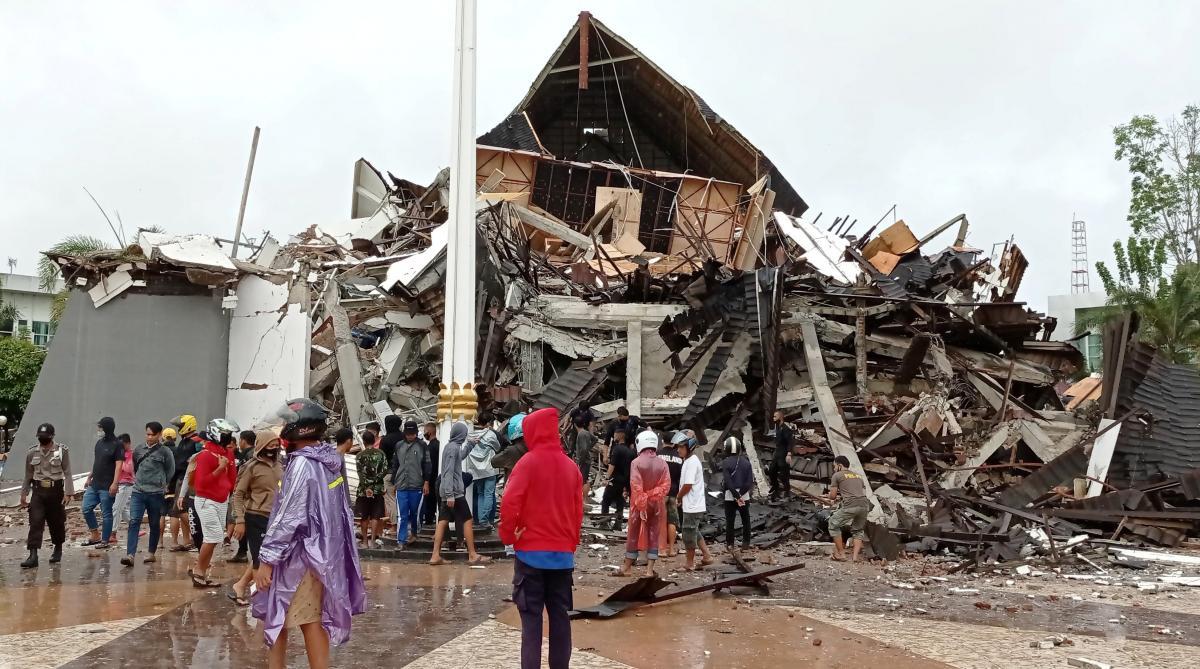 Землетрус в Індонезії став смертоносним