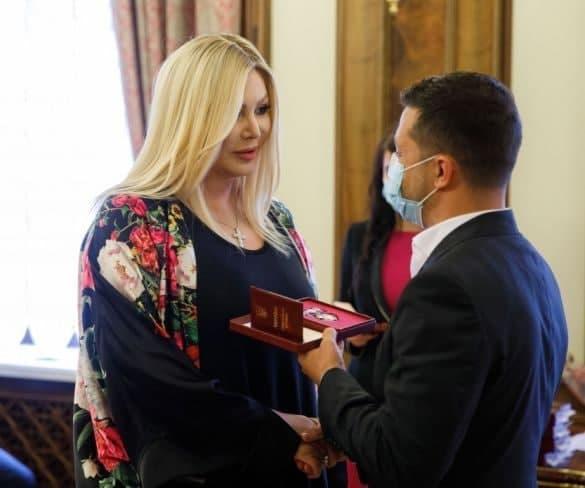 Ірина Білик отримала орден княгині Ольги III ступеня