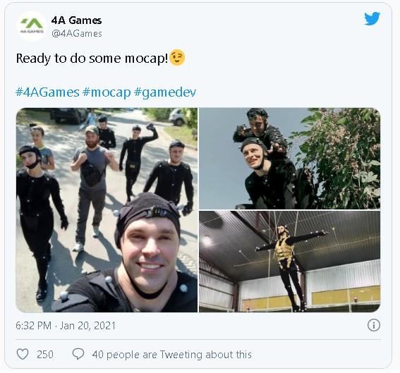 Украинские разработчики Metro начали работать над новой части игры