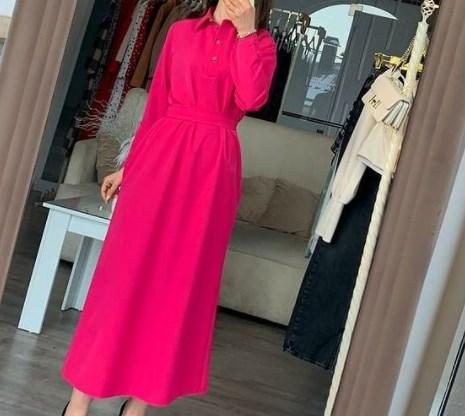 Модная одежда 2021 цвета Бабл Гам