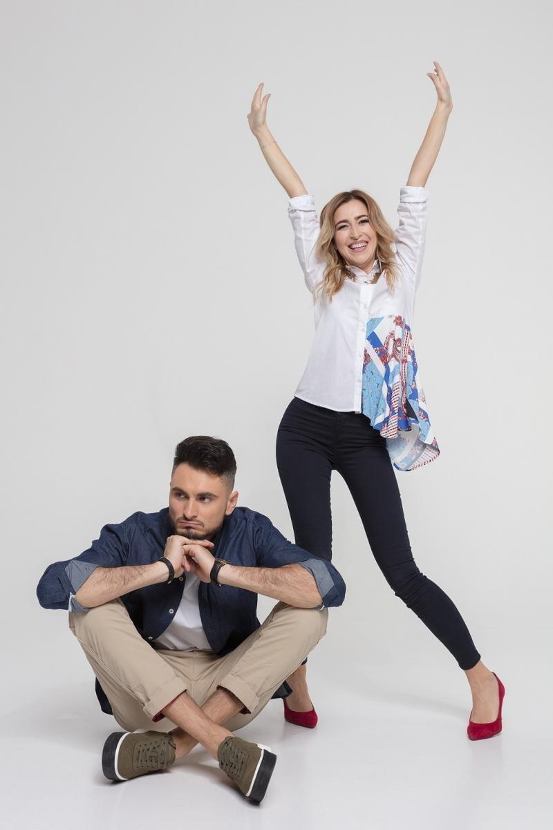 Макс Узол и Ольга Манько