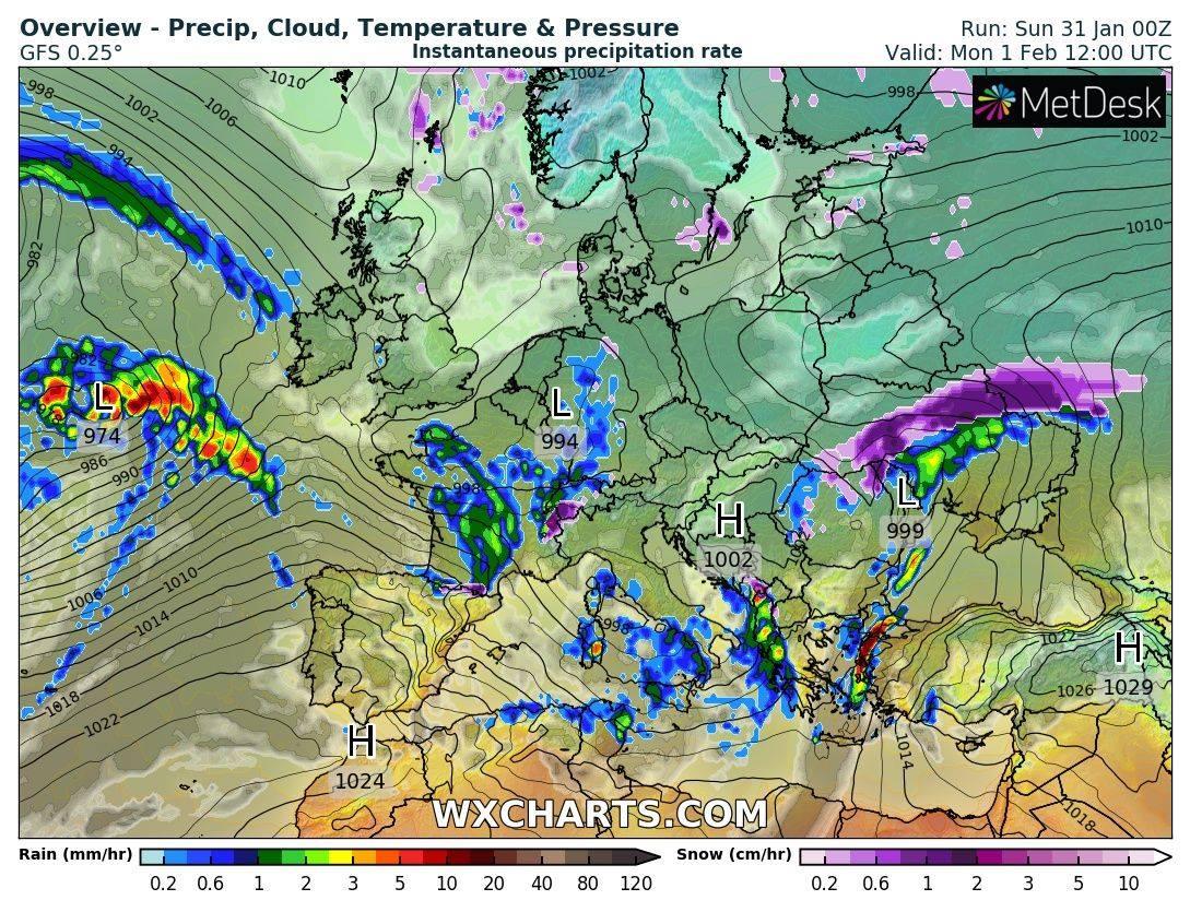 Завалит снегом и заморозит до -14 градусов: Украину атакует новый циклон