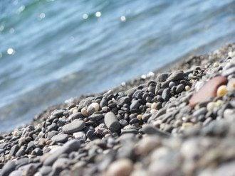 Ялта, галька, пляж