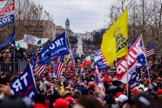 Протести в США прихильників Трампа