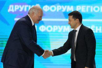 Лукашенко поделился, что не держит зла на Зеленского – Лукашенко – Зеленский
